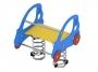 Rugós játékok - 2 személyes autó