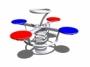 Rugós játékok - 4 személyes MANDI